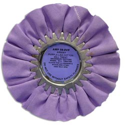 Zephyr Purple Lea Airway Light/Medium Cutting Wheel