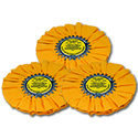 Zephyr Yellow Airway Medium/Heavy Cutting Wheel (Pack Of 3)