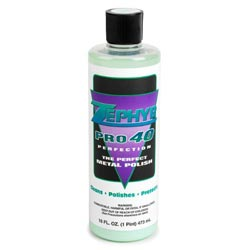 Zephyr Pro-40 Perfection Metal Polish - 16 Oz