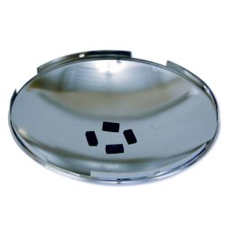 Stainless Steel Front Hubcap Dome