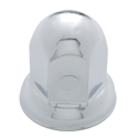 33MM X 2 Inch Chrome-Plated Steel Lug Nut Cover With Flange