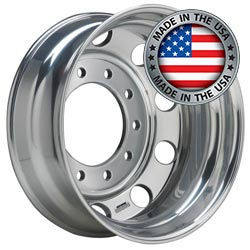 Accuride 24.5in x 8.5in Budd Aluminum Wheel