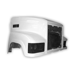Jones Performance Fiberglass Hood - Mack CHN 613 SFA
