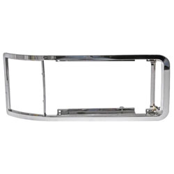 Chrome Heavy Duty Headlight Bezel Fits Mack CH & CL SBA - Replaces 7313-95475