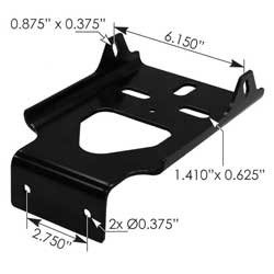 Volvo VNL Inner Bumper Bracket Fits Version 2