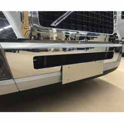 Volvo VNL Bumper Center Accent Trim Stainless Steel 2014-Older