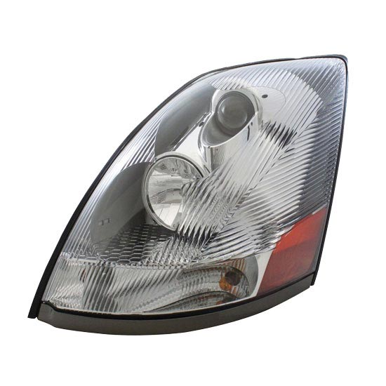 Headlight Assembly For Volvo Vnl With Modified Design - Chrome