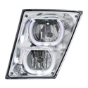 LED Fog Light Assembly Fits Volvo VNL Gen II
