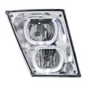 LED Fog Light Assembly Fits Volvo Gen II - Passenger Side