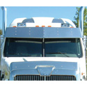 Western Star Sun Visors by 4-State Trucks