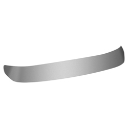 Stainless Steel Dropped Visor for Western Star