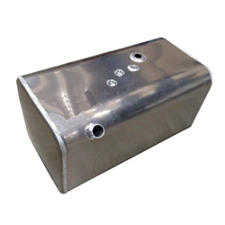 52 Gallon Rear Fill Rectangular Fuel Tank 19.5 X 19.5 X 35.75 Inch Fits Hino Passenger Side