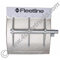 Fleetline Aluminum Quarter Fenders w/ Full Braces