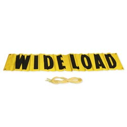 Wide Load Sign 12in x 72in