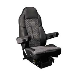 Legacy Lo Ultraleather Seat by Seats Inc - Diamond Plate/Black