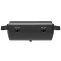 9.5 Inch Diameter Trailer Air Tank With 1488 Cubic Inch Volume, 3/4 Inch Ports & 1/4 Inch Drain