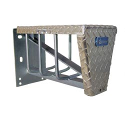Aluminum Chain Carrier w/ Lid - 24in