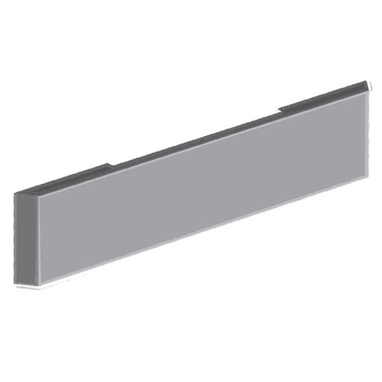 CHROME Stainless 20 Inch Mitered End BUMPER Blind Mount