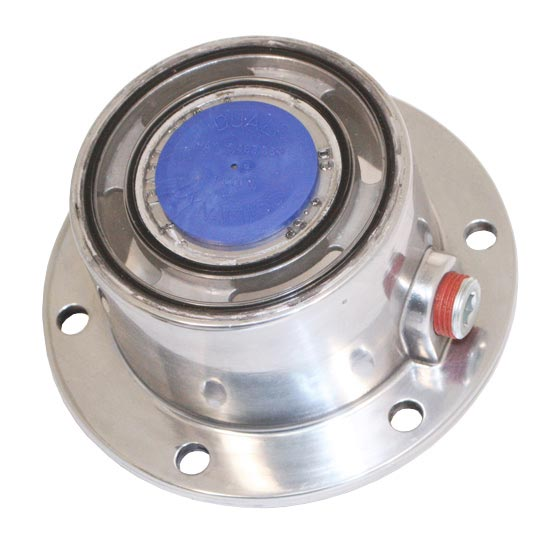 Polished Aluminum Oil Hubcap Fits Steer Axle 4 State Trucks