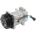AC Compressor With Clutch Fits Kenworth & Peterbilt