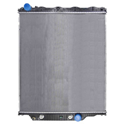 Plastic Aluminum Radiator With Oil Cooler 34.68 X 39.25 Inch Fits Mack CHN, CHU613 SFA, Volvo VHD & VNL