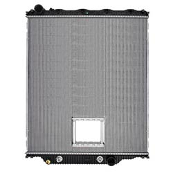 Plastic Aluminum Radiator With Oil Cooler & Crank Box Fits Mack CHN, CHU613 SFA & Volvo VT880