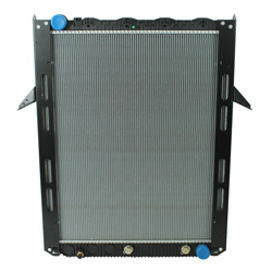 Plastic Aluminum Radiator With Oil Cooler 40.5 X 34.125 Inch Fits Mack CXU613 Vision & Volvo VNL Gen II