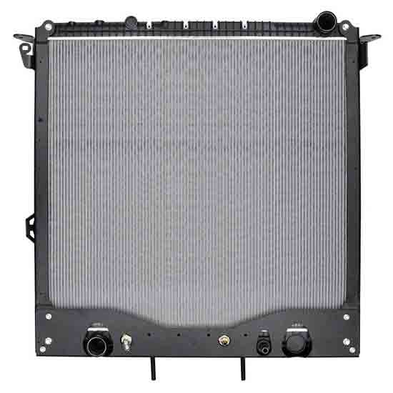 Plastic Aluminum Radiator With Oil Cooler 34 X 31 25 Inch Fits Freightliner  Cascadia, M2-112 & WS 5700XE