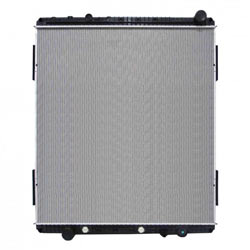Plastic Aluminum Radiator With Oil Cooler 42.125 X 41.625 Inch Fits Freightliner & Western Star