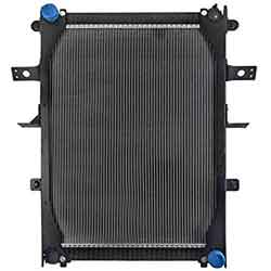 PTR Radiator With Frame, Lower Right Outlet 31.687 X 24.312 X 2 Inch Fits Freightliner M2-106 & Sterling Acterra