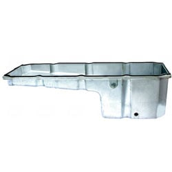 Oil Pan Aluminum Front Sump Fits International 9200I, 9400I & Freightliner Columbia With Detroit 60 Engine