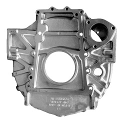 Aluminum Flywheel Housing With 12MM Mounting Holes Fits Detroit 60 Series Engines