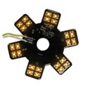 Amber LED Glow Panels for Air Breather - 5 Inch with 24 Diodes