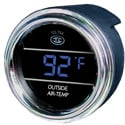 Digital Outside Air Temperature Gauge - Blue Display