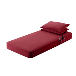 Burgundy 42 X 80 X 7.5 Inch Bed Sheet Fits International, Kenworth & Peterbilt
