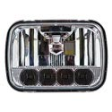5 Inch X 7 Inch Rectangular High/Low Beam LED Headlight 5 Diodes