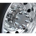 Stainless Steel Drive Axle Hub Covers With Punched Holes