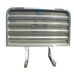 Aluminum Cab Guard - Plain - 68in x 70in