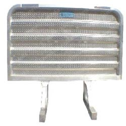 Aluminum Cab Guard - Plain - 68in x 86in