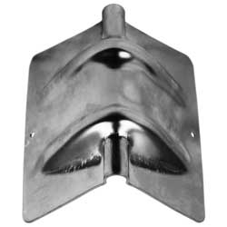 4 Inch Wide Steel Corner Protector For Strap Or Chain Use