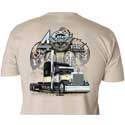 4 State Trucks 40 Years  Cream T-Shirt - Adult