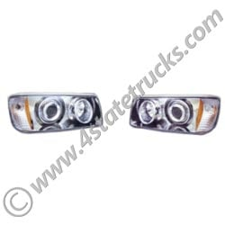 Projector Headlight Assembly for Freightliner FLD112/120