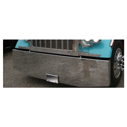 22 To 20 Inch Chrome Standard Boxed End Bumper With UST Mounts