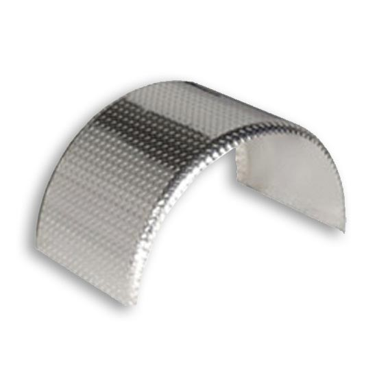 Aluminum Truck Fenders : Aluminum single axle full radius fender diamond plate