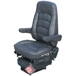 Bostrom Wide Ride II Seat Standard Base with High Back