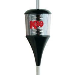 6000 Watt Plus Series Trucker Antenna Black & Clear With Chrome Coil