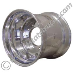Aluminum Alcoa Wheel - Hub Pilot Style - Super Single