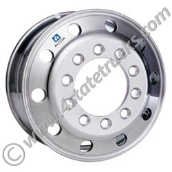 Alcoa 22.5in x 8.25in Aluminum Budd Wheel