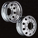 22.5 In Accuride Accu-Lite Aluminum Wheel - Drive or Steer