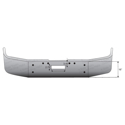 16 Inch Chrome Wrap Around Bumper With Tow Holes Fits Freightliner FLD